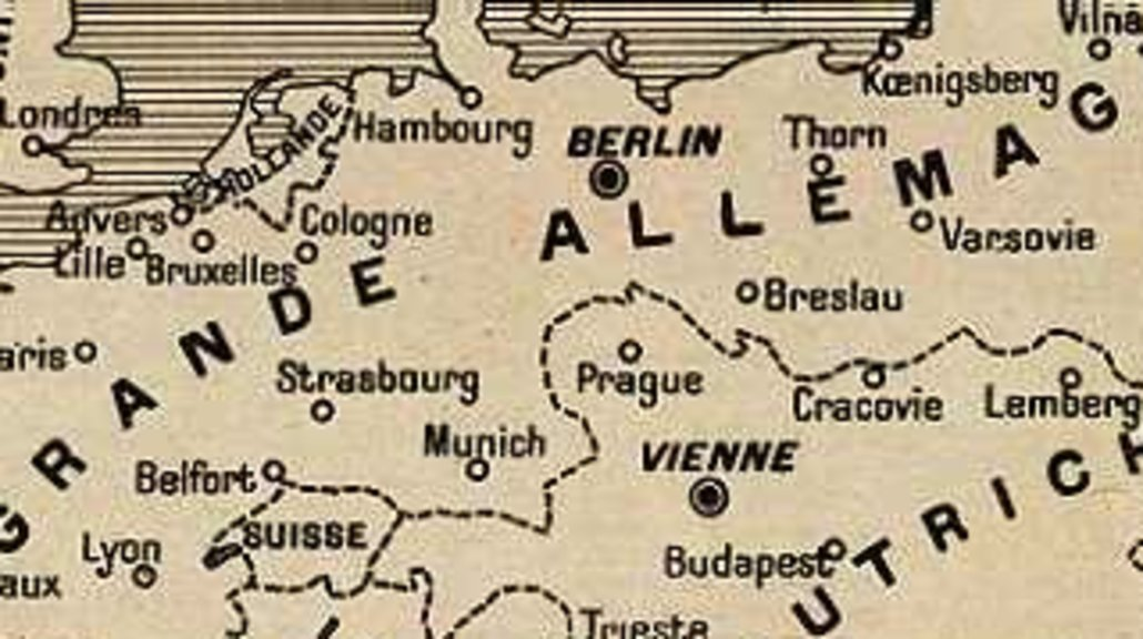9 germany wins world war ifrench worst case scenario big think what would europe have looked like had imperial germany won world war one this image is taken off a french magazine at the start of the war gumiabroncs Choice Image