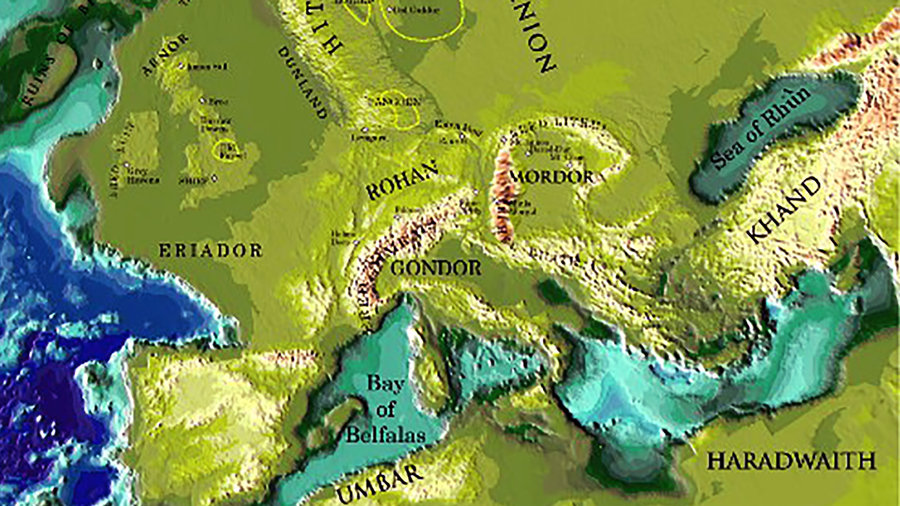 jrr tolkiens lord of the rings real places may have inspired middle earth big think