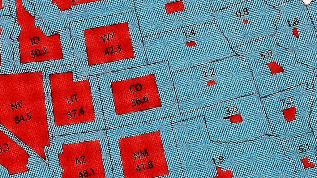 Just How Much Land Does The Federal Government Own And Why - Us land map