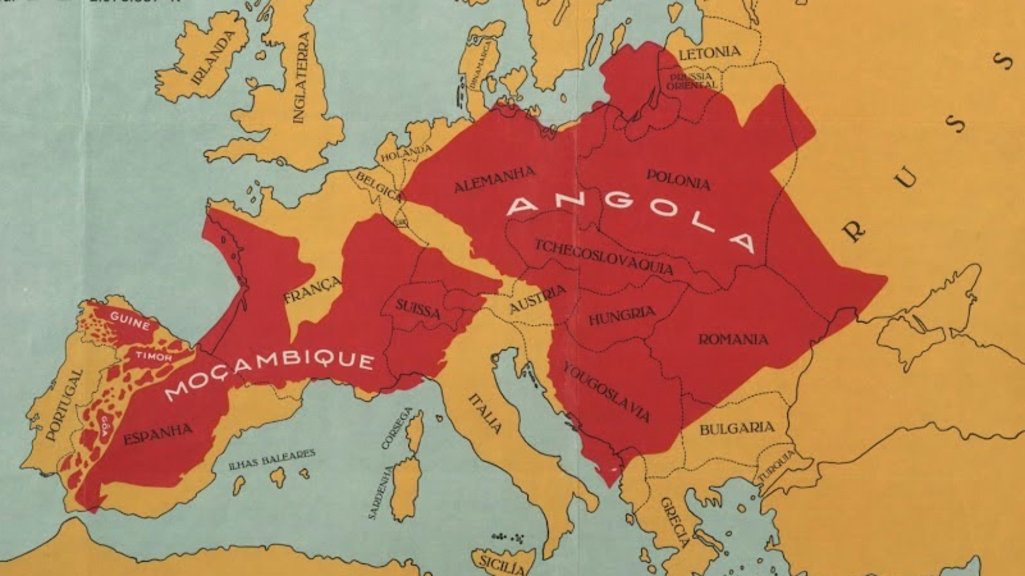 Map Proves That Portugal Is Not A Small Country Big Think - Where is portugal in the world