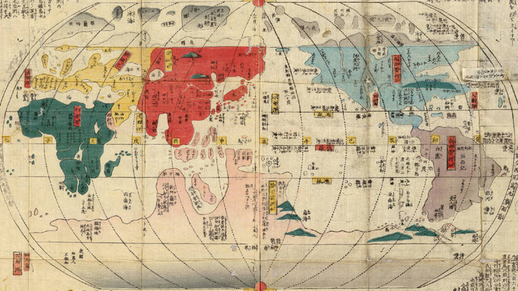 Isolated japan maps the forbidden outside world big think gumiabroncs Gallery