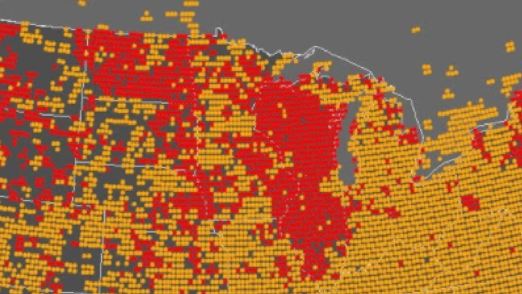 Wisconsin Americas Beer Belly Big Think - Map of grocery stores in us