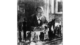 Freud_at_desk_with_statues