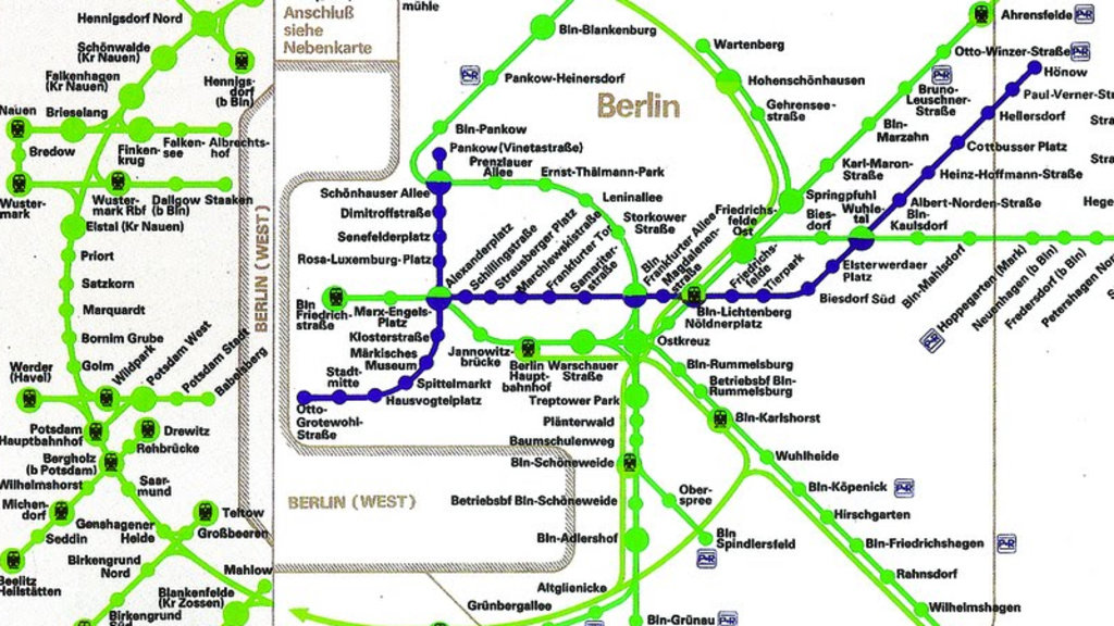 How East German Maps Made West Berlin Almost Disappear Big Think