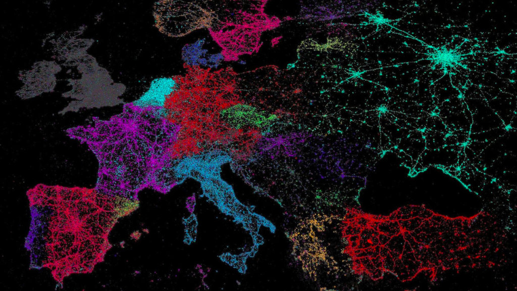 Vive Le Tweet A Map Of Twitters Languages Big Think - World language mapping system