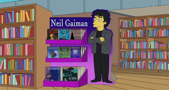 Simpsons-gaiman-screenshot