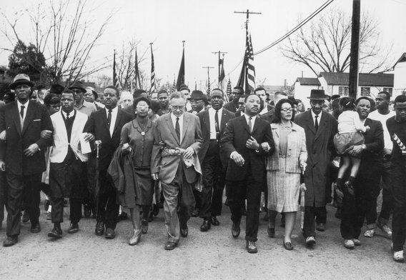 Civil-rights-march
