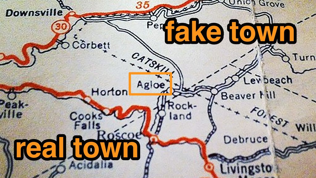 Agloe How a Completely Made Up New York Town Became Real Big Think