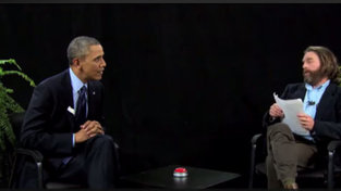"President Obama is to ""Between Two Ferns"" as Macy's Terry Lundgren is to Buzzfeed"