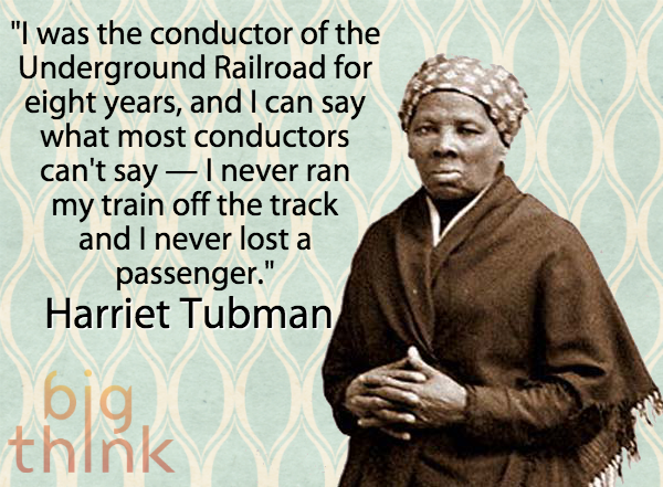 the contributions of harriet tubman to the underground railroad The name stuck, and the legend of the underground railroad was born  black  moses harriet tubman was raised in slavery in eastern maryland but escaped in .