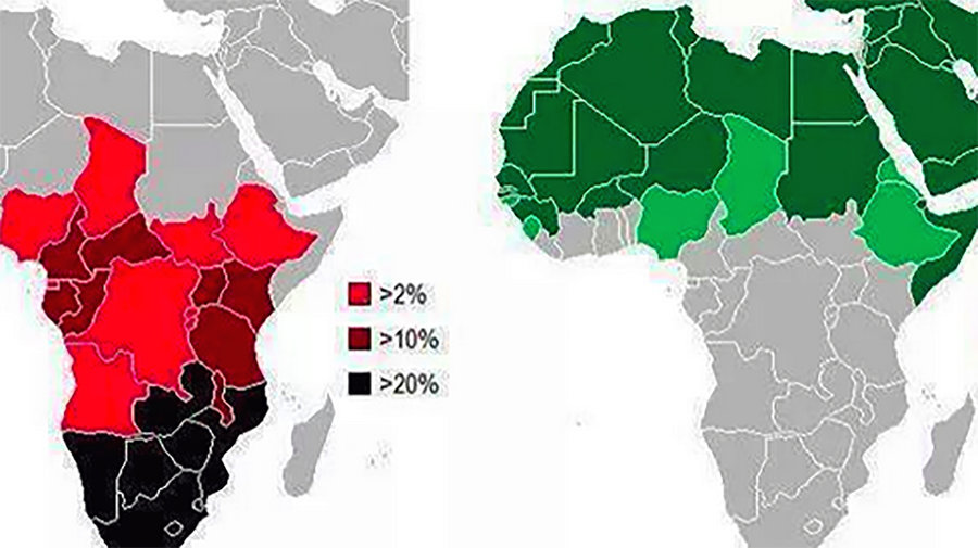 Prevalence_of_aids_and_islam_in_africa