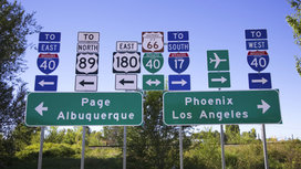 Highwaytrafficgothicsigns