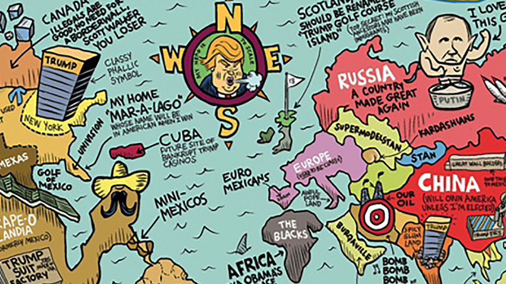 the world according to some american