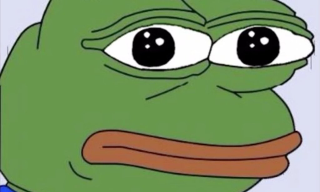Funny Meme Character : Pepe the frog meme declared hate symbol added to the anti