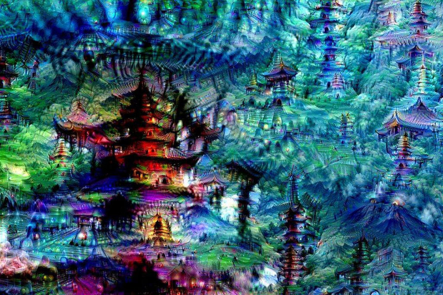 Google's Neural Network Makes Art in its Dreams