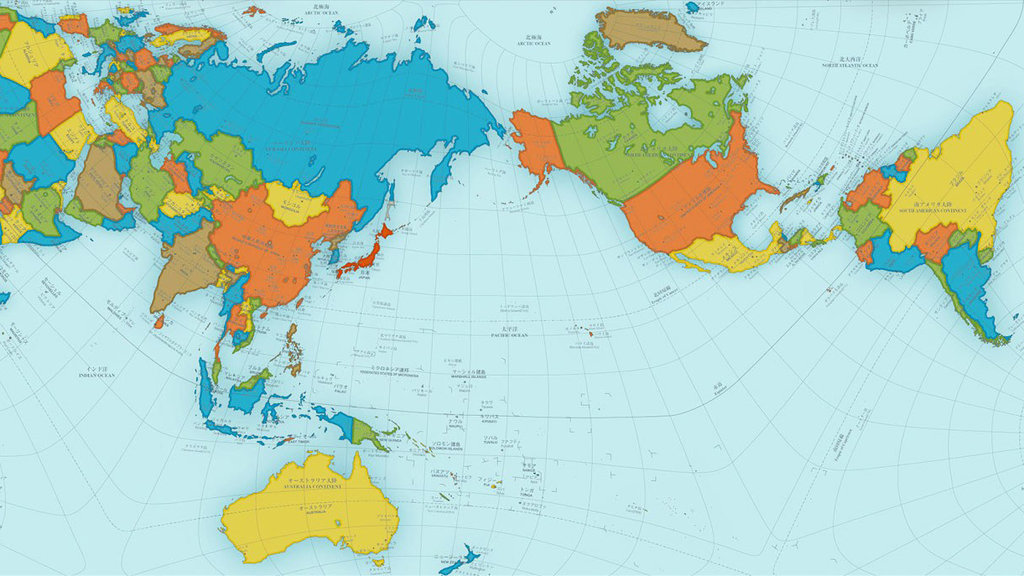 Award winning map shows a more accurate world big think the authagraph world map gumiabroncs Gallery