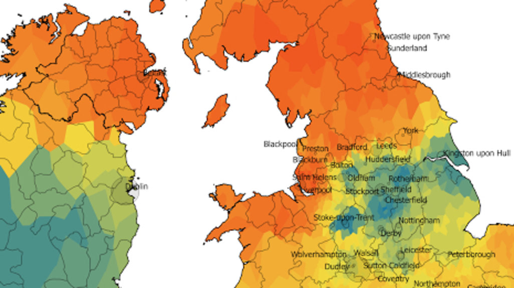 The Great Scone Map of the UK and Ireland Big Think