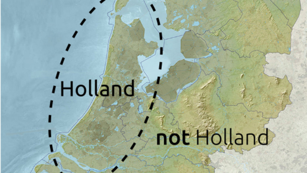 Are holland and the netherlands the same country big think diversity is not contingent on size you can be a small country and still be very heterogenous holland is a case in point as these maps demonstrate gumiabroncs Choice Image