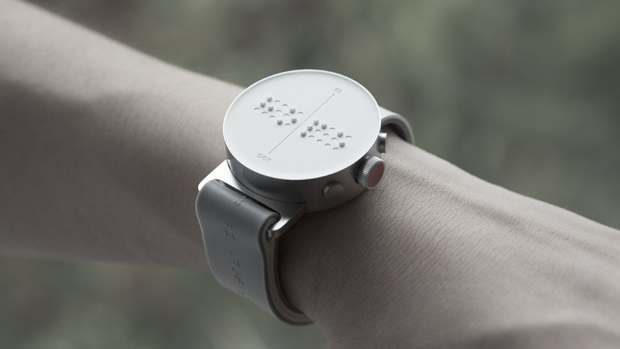World's First Braille Smartwatch Levels the Playing Field ...