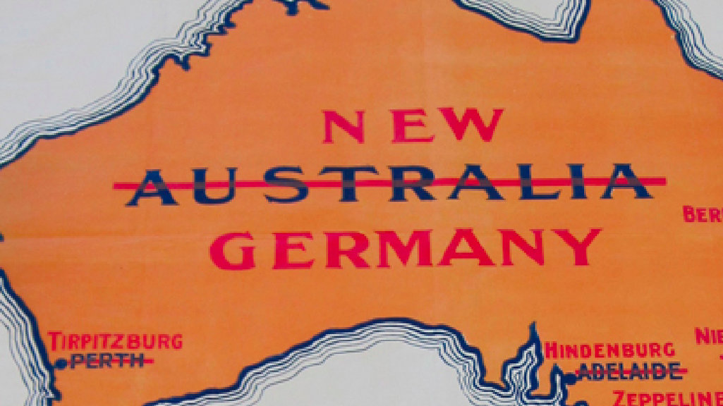 World war i scare map germany invades australia big think back when australia thought it was just another british isle accidentally misplaced in the south pacific the country regularly had nightmares of an asian gumiabroncs Images