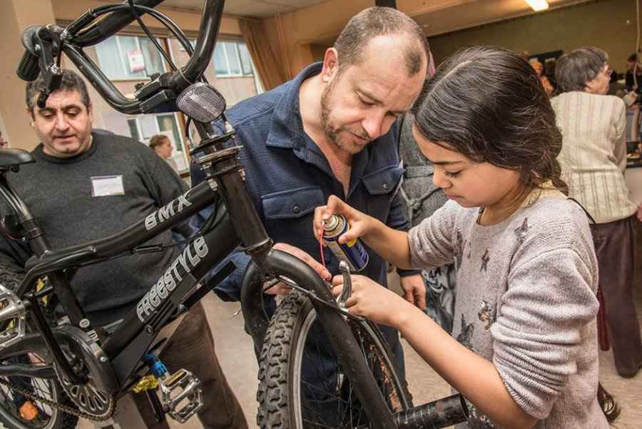 Stop Throwing Your Broken Stuff Out. Go to a Repair Cafe and Fix It Yourself.
