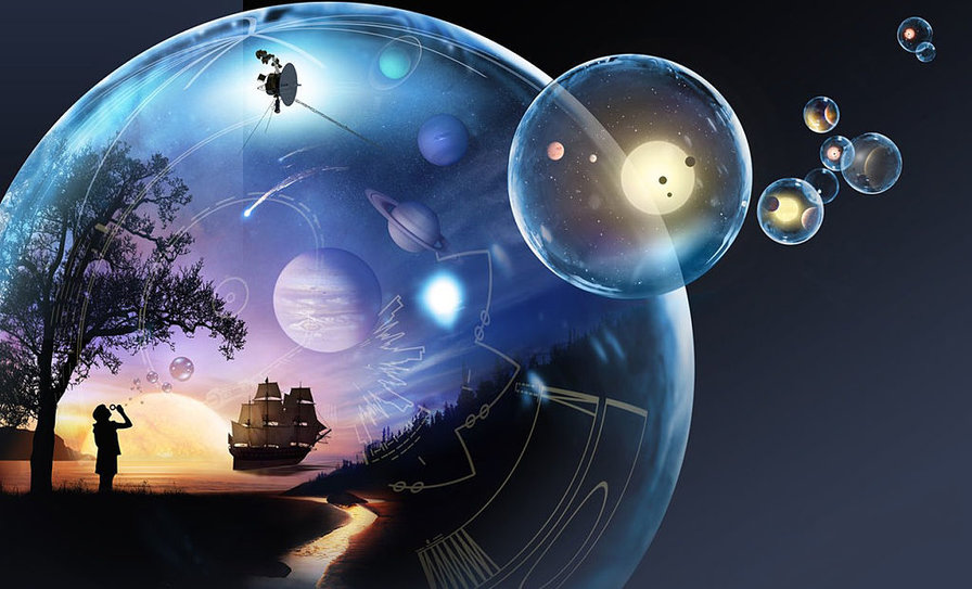 Physicists Outline 10 Different Dimensions and How You'd Experience Them 1024px-NASA_child_bubble_exploration