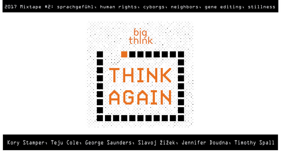 Think Again Podcast 2017 Mixtape #2: Words, Values, Self
