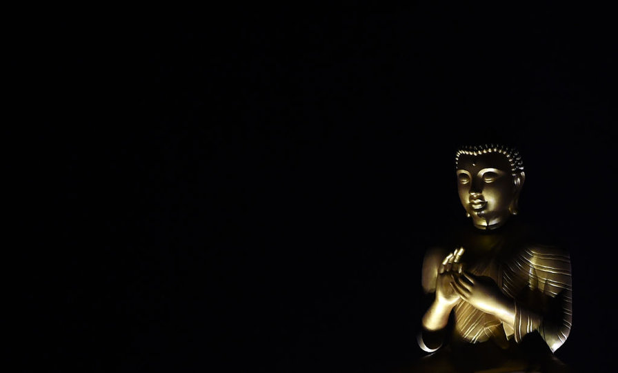 A statue of Buddha is displayed in a temple in the Colombo suburb of Kelaniya on June 8,2017, during the Poson Festival marking the introduction of Buddhism to the island. (Ishara S. Kodikara/AFP/Getty Images)
