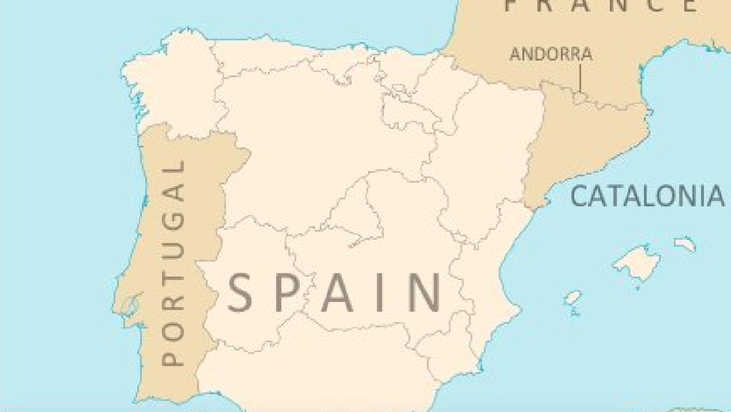 What an independent catalonia would do to the map of spain big think this is what the map of the iberian peninsula may look like if spains semi autonomous region of catalonia catalunya were to become independent gumiabroncs