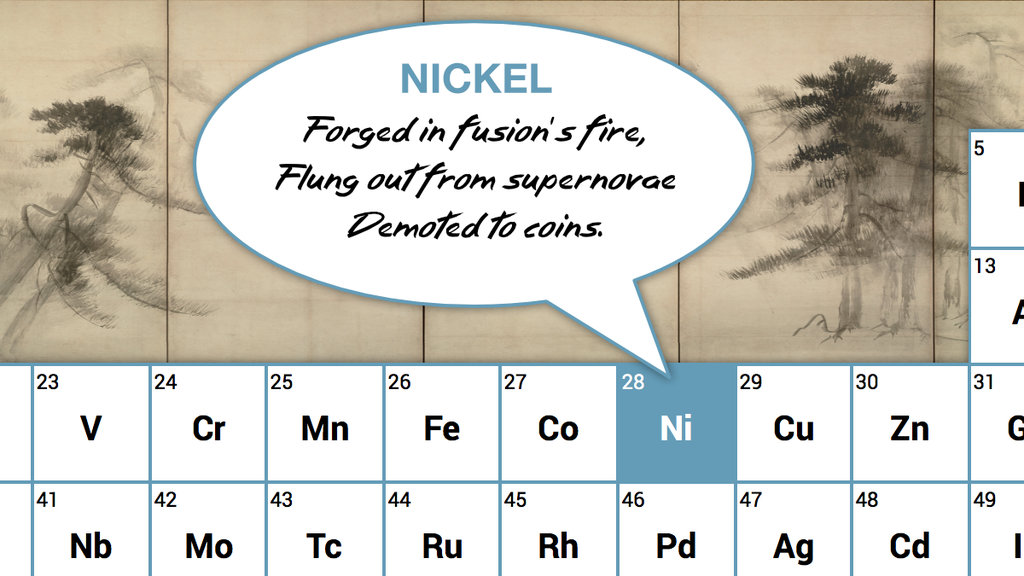 A haiku for every element in the periodic table big think urtaz Images