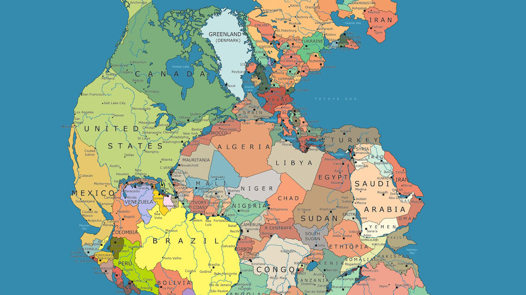 Which countries would be your neighbors on the supercontinent pangea article image gumiabroncs Gallery