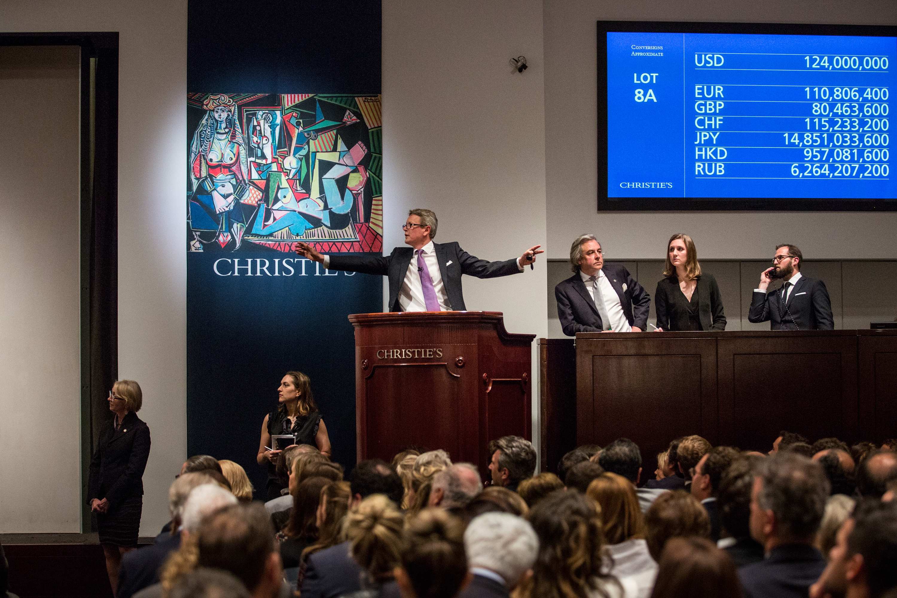 Picasso painting sells at Sotheby's