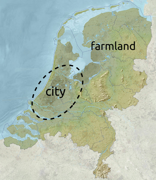 Are holland and the netherlands the same country big think as mentioned holland is culturally dominant and the fact that it is the most urbanised part of the country is a major factor gumiabroncs Gallery