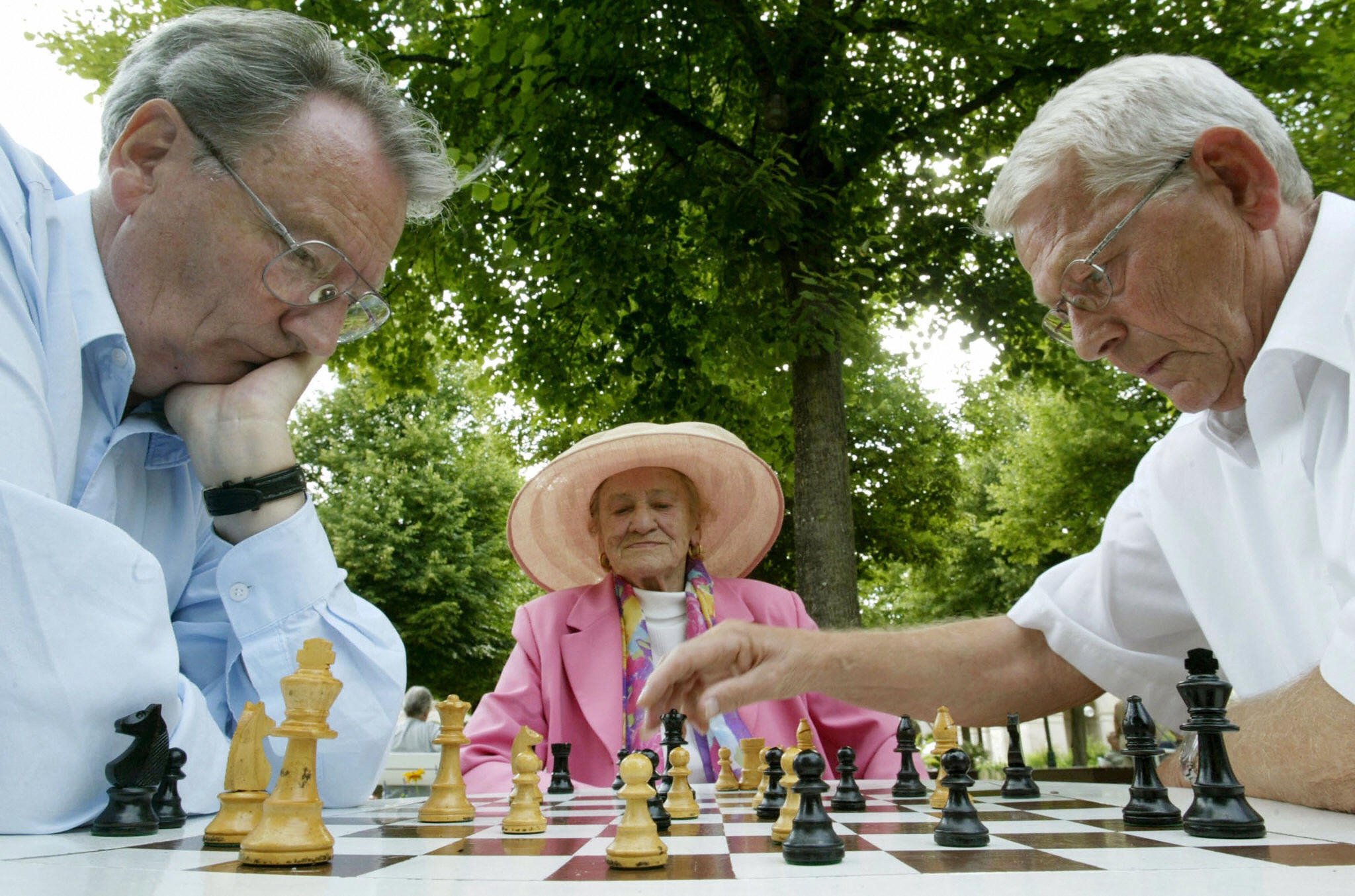 German pensioners