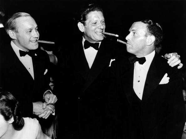 Jack Benny and friends (Credit: Getty Images)