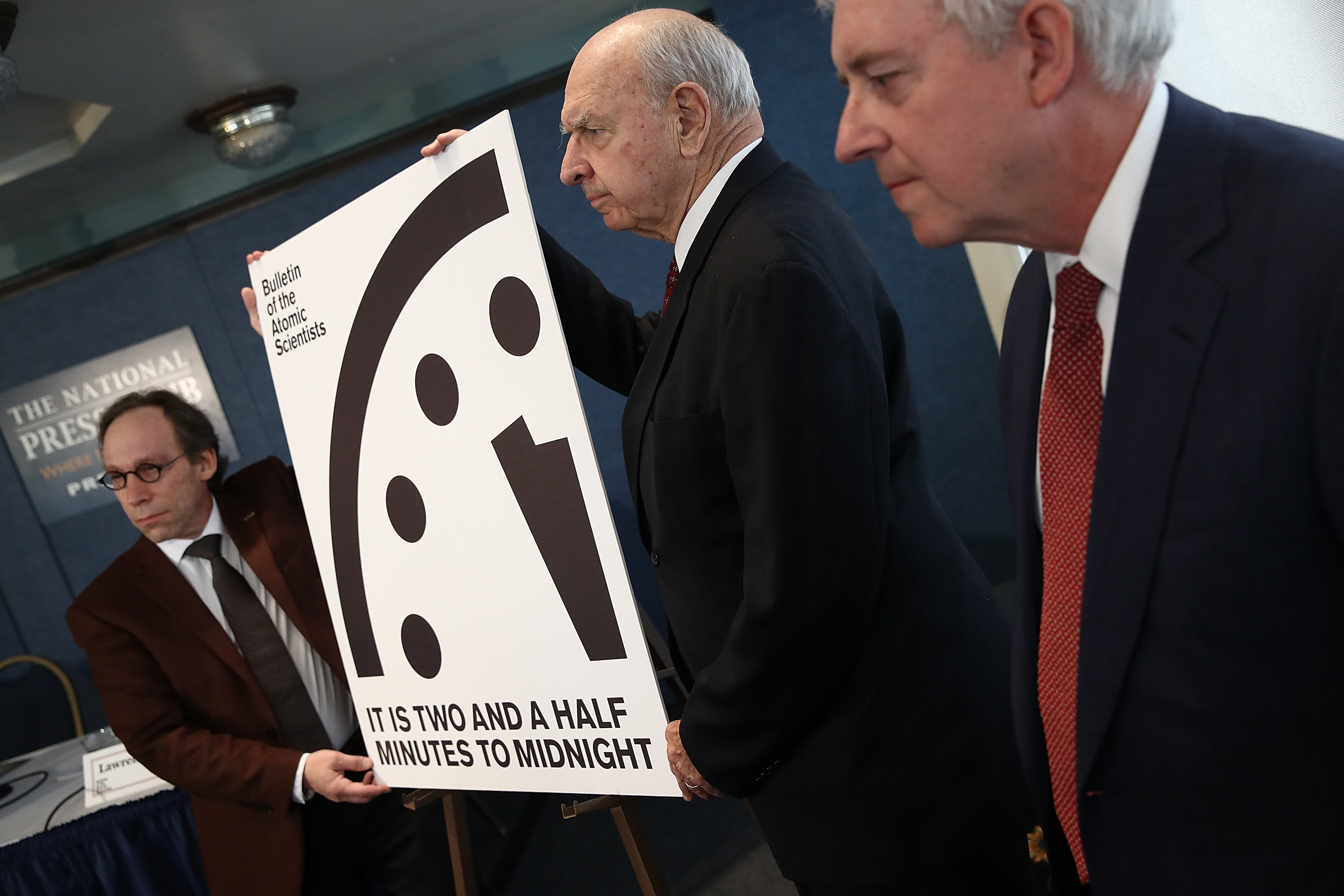moving the Doomsday clock