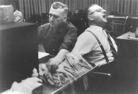 photo from milgram experiment