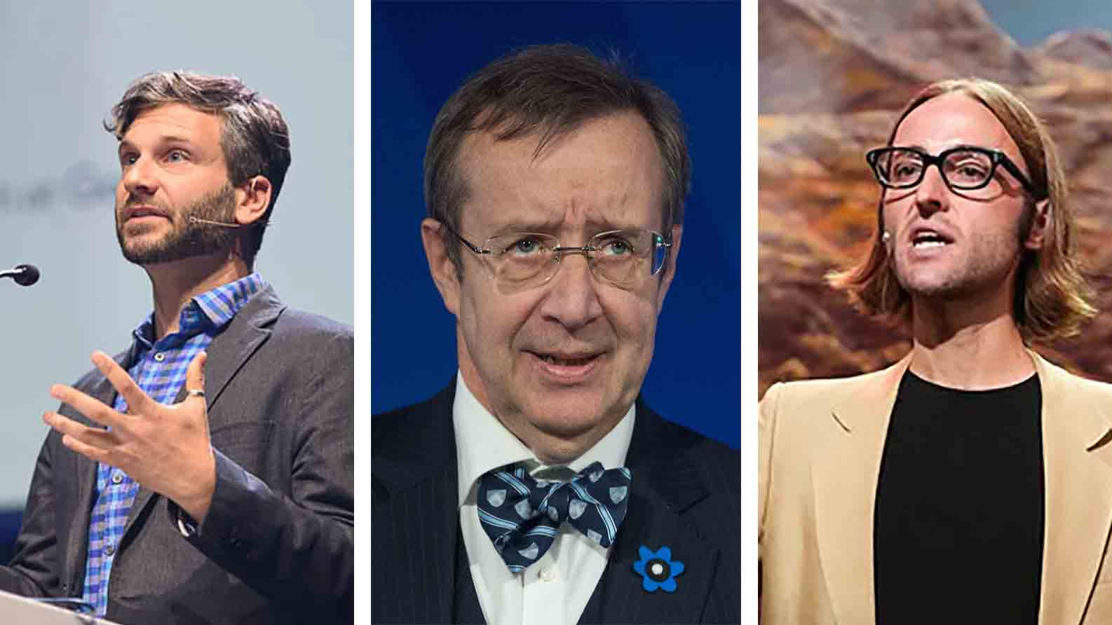 Greg Corrado, Toomas Hendrik Ilves, James Beacham