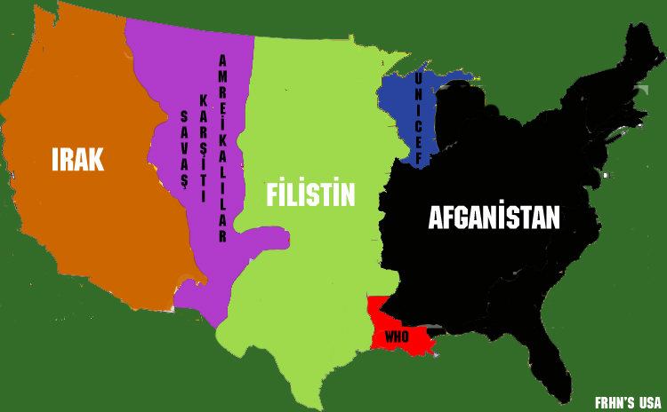 Divided States Of America Big Think - Most eastern state of usa